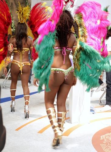 Страна, где процветает культ тела - Бразилия.