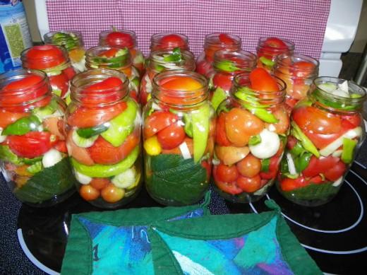 овощи соленья