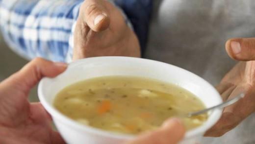 Низкоуглеводный суп – суп из шпината и кокоса