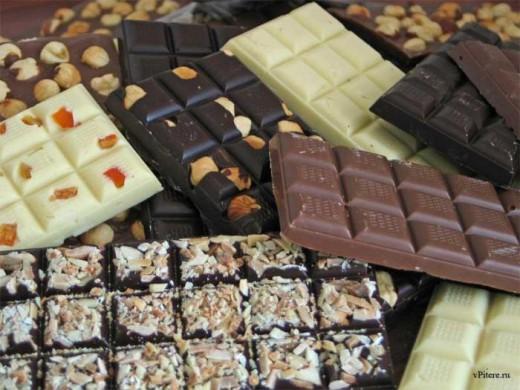 Сладкий и вкусный шоколад вступит в борьбу за стройность