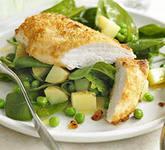 Простое и быстрое блюдо из куриного филе