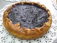Смородиновый пирог, без выпекания