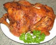 Запечённая курица в аэрогриле
