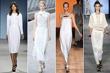 Белый цвет в моде всегда