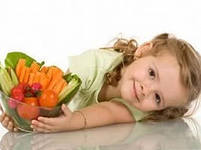 Продукты, полезные для глаз ребенка
