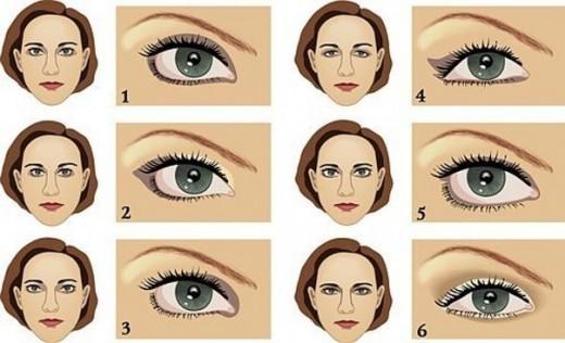 Как сделать макияж глаз?