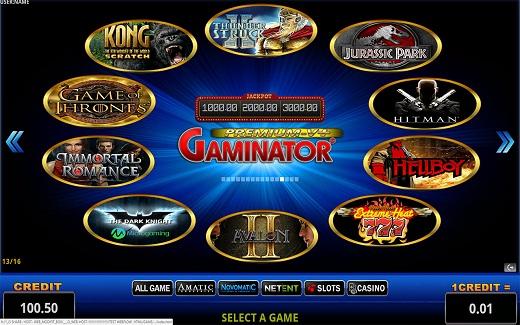 Gaminator для азартной игры