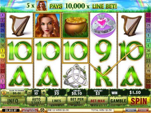 Ирландская удача в Riobet casino