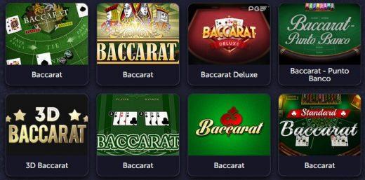 Баккара в вавада казино