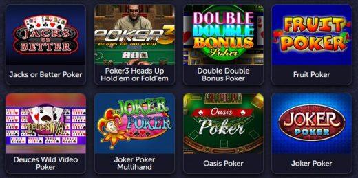 Покер в вавада казино